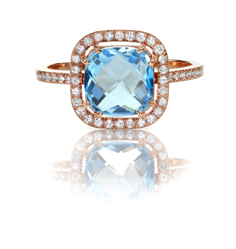 Different Types Of Topaz As Engagement Rings